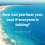 Solitude quote about soul