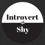 Introvert is not the same as shy