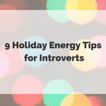 introvert holiday tips