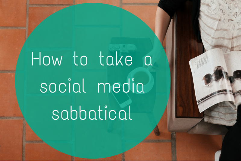 How to take a social media sabbatical and what to expect