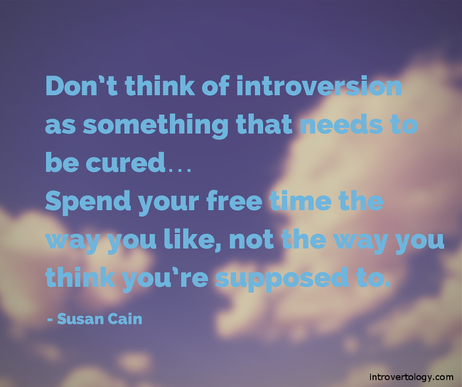 Cain Introvert quote