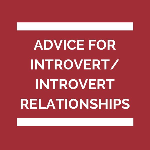Relationship introvert