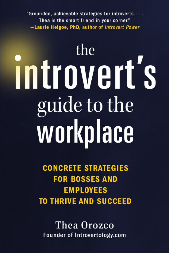 The Introvert's Guide to the Workplace book cover image